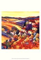 Couchant dans les collines Fine-Art Print