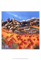 Le village Fine-Art Print