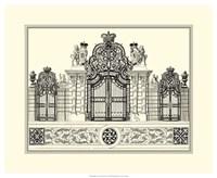 B&W Grand Garden Gate I Fine-Art Print