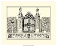 B&W Grand Garden Gate III Fine-Art Print