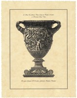 Vintage Harvest Urn II - Vaso Antico Fine-Art Print