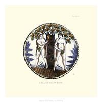 English Delft Dish Fine-Art Print