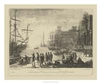 Antique Harbor II Fine-Art Print