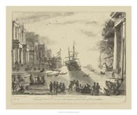 Antique Harbor VI Fine-Art Print