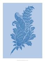 Porcelain Blue Motif IV Fine-Art Print