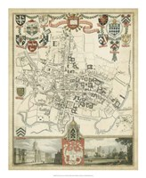 City & University of Oxford Fine-Art Print