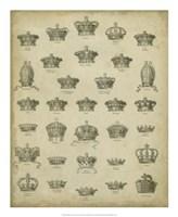 Heraldic Crowns & Coronets V Fine-Art Print