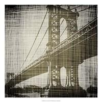 Bridges of New York II Fine-Art Print