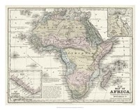 Map of Africa Fine-Art Print