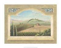 Vineyard Window III Fine-Art Print