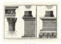 Cornice Tempio di Vesta Fine-Art Print