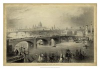 General View of London Fine-Art Print