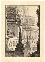 Vintage Roman Ruins III Fine-Art Print