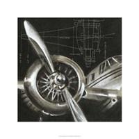 Aerial Navigation I Fine-Art Print