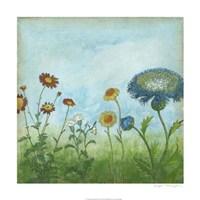 Antique Floral Meadow II Fine-Art Print