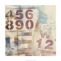 Numbered I Fine-Art Print