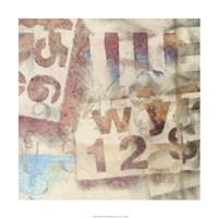 Numbered II Fine-Art Print