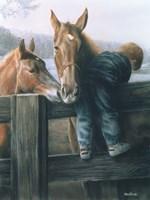 Grandpa's Farm Fine-Art Print