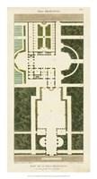 Plan de la Villa Bolognetti Fine-Art Print