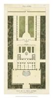 Plan de la Villa Altieri Fine-Art Print
