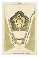 Plan du Rez De Chaussee du Palais Fine-Art Print