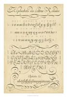 Alphabet Sampler I Fine-Art Print