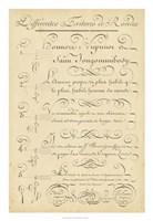 Alphabet Sampler III Fine-Art Print