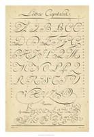 Alphabet Sampler IV Fine-Art Print
