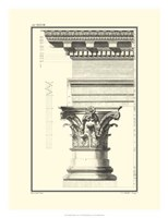 B&W Column and Cornice I Fine-Art Print