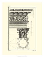 B&W Column and Cornice II Fine-Art Print