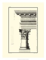 B&W Column and Cornice III Fine-Art Print