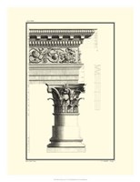 B&W Column and Cornice IV Fine-Art Print