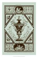 Urns in Celadon I Fine-Art Print