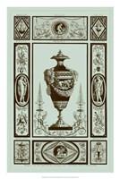 Urns in Celadon II Fine-Art Print