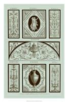Panel in Celadon I Fine-Art Print