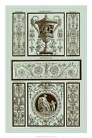 Panel in Celadon II Fine-Art Print