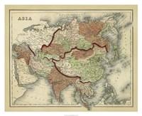 Antique Map of Asia Fine-Art Print