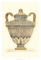 Dusty Urn Sketch I Fine-Art Print