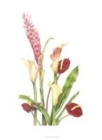 Tropical Bouquet I Fine-Art Print
