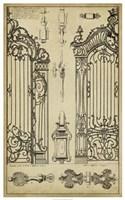 Vintage Gate I Fine-Art Print