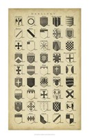 Vintage Heraldry I Fine-Art Print