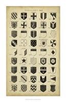 Vintage Heraldry II Framed Print