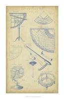 Vintage Astronomy I Fine-Art Print