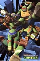 Teenage Mutant Ninja Turtles - Attack Wall Poster