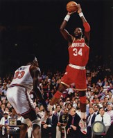 Hakeem Olajuwon Game 4 of the 1994 NBA Finals Action Fine-Art Print