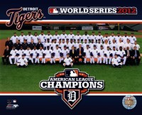 The Detroit Tigers 2012 American League Champions Team Photo Fine-Art Print