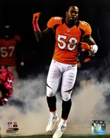 Von Miller 2012 Action Fine-Art Print