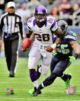 Adrian Peterson 2012 Action Fine-Art Print