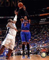 Carmelo Anthony 2012-13 Action in basketball Fine-Art Print