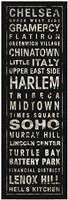 Transit NYC II Black Fine-Art Print